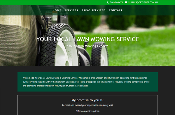 Northern Beaches Lawn Mowing Services