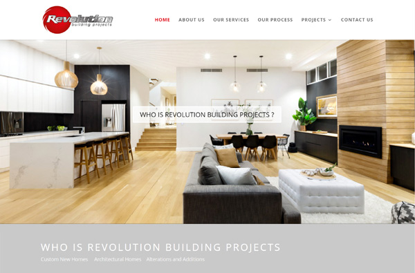 Revolutions Building Projects